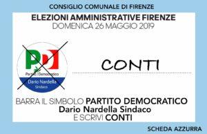 Enrico Conti - scheda azzurra